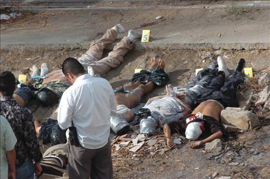 Los narcos dueños y señores de México